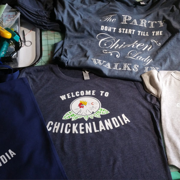 Welcome to Chickenlandia Merchandise for sale
